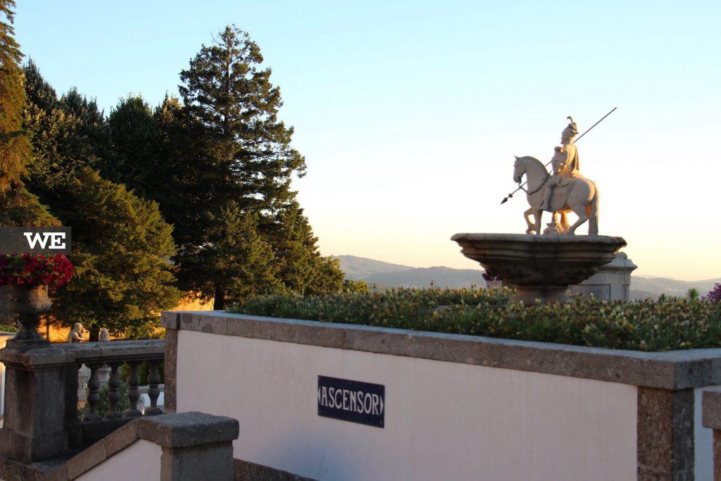 Estátua de São Longuinho - Bom Jesus do monte