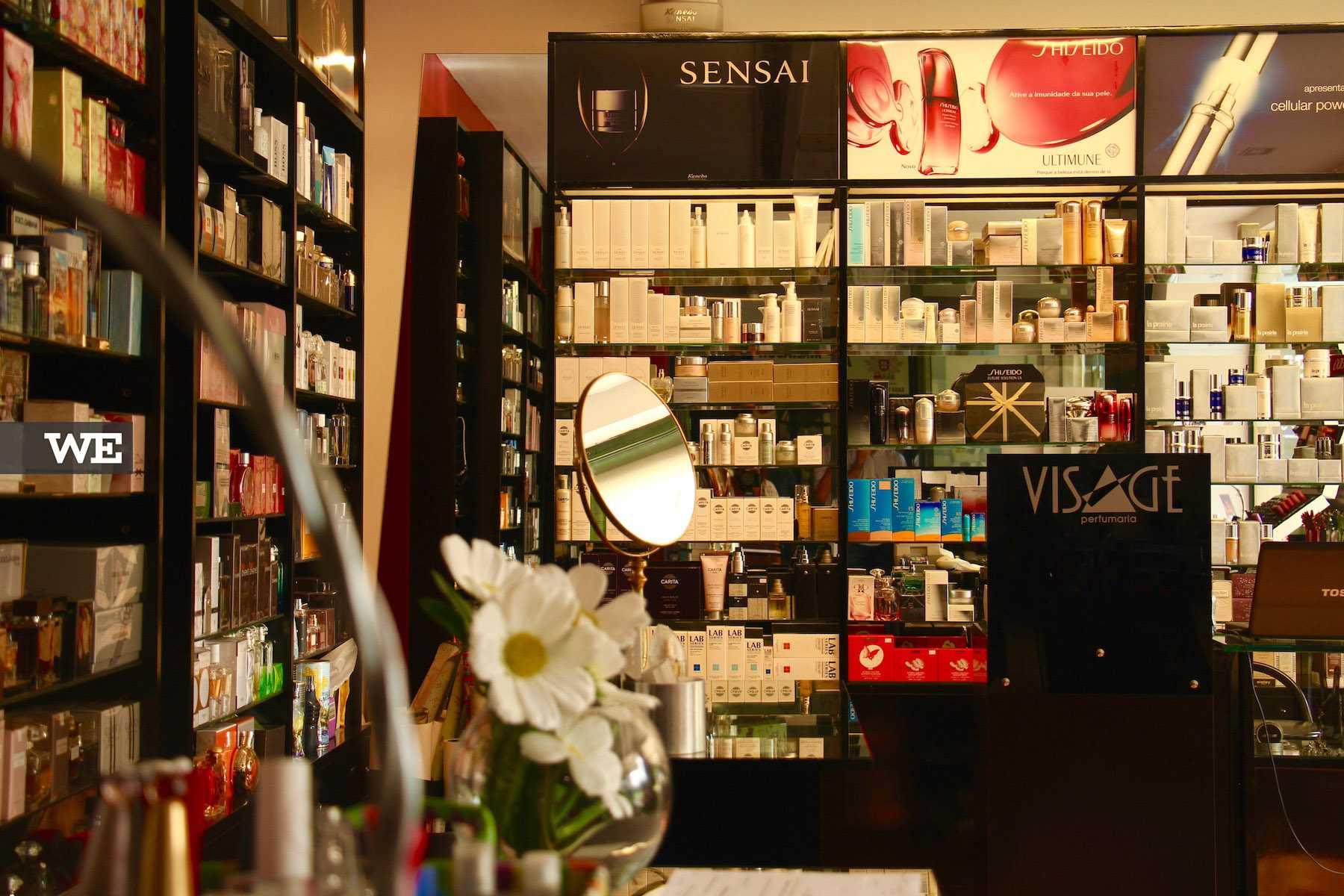 Interior da loja - Visage Perfumaria