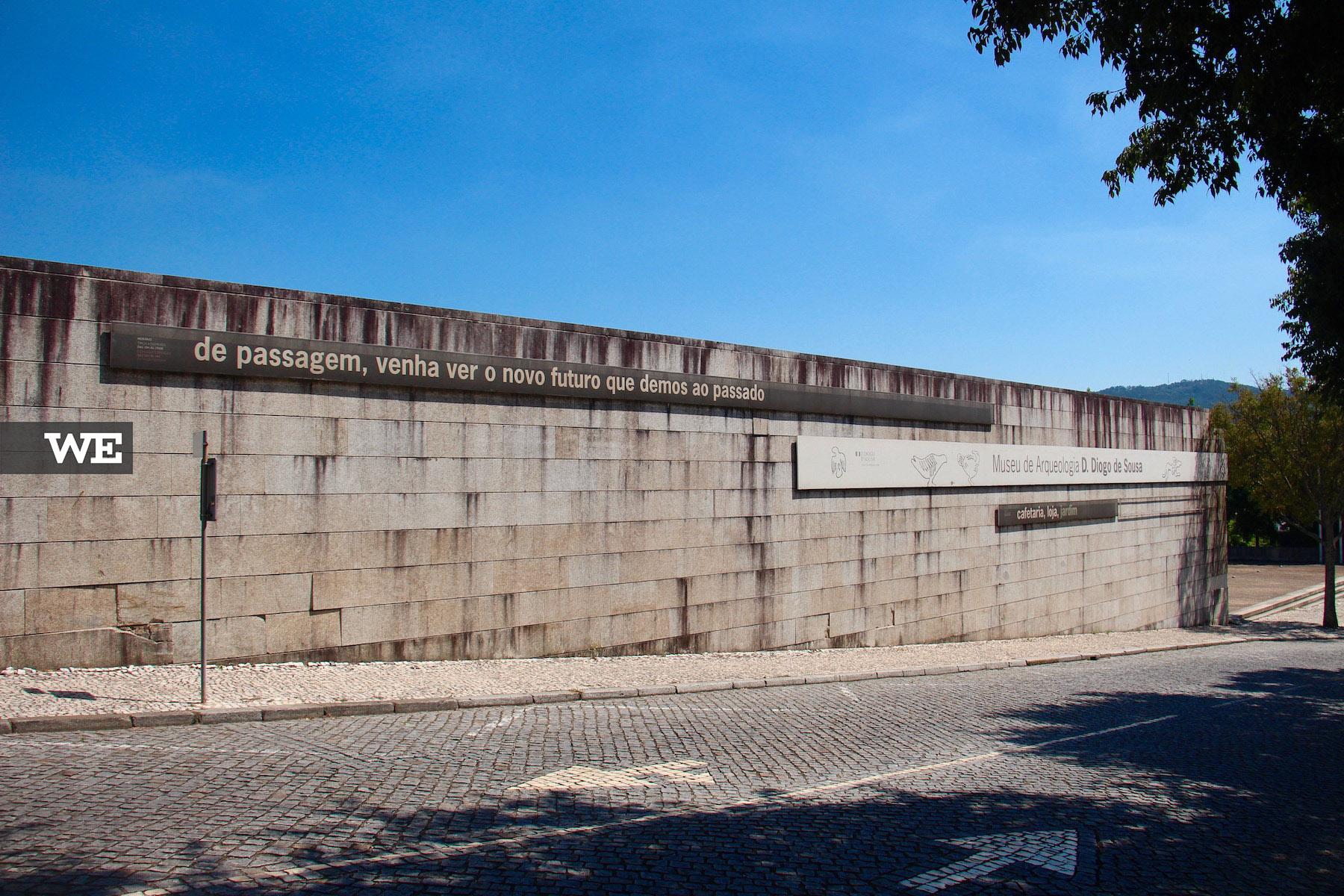 Vista de rua do Museu D. Diogo de Sousa