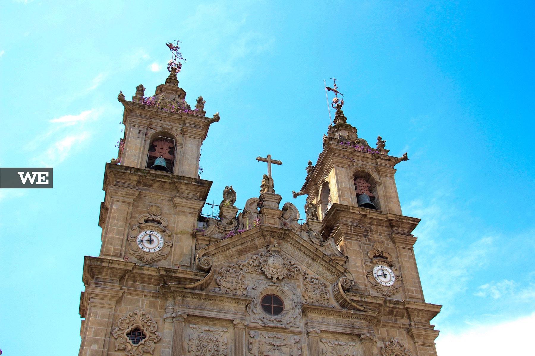 A Igreja de Santa Cruz, em Braga