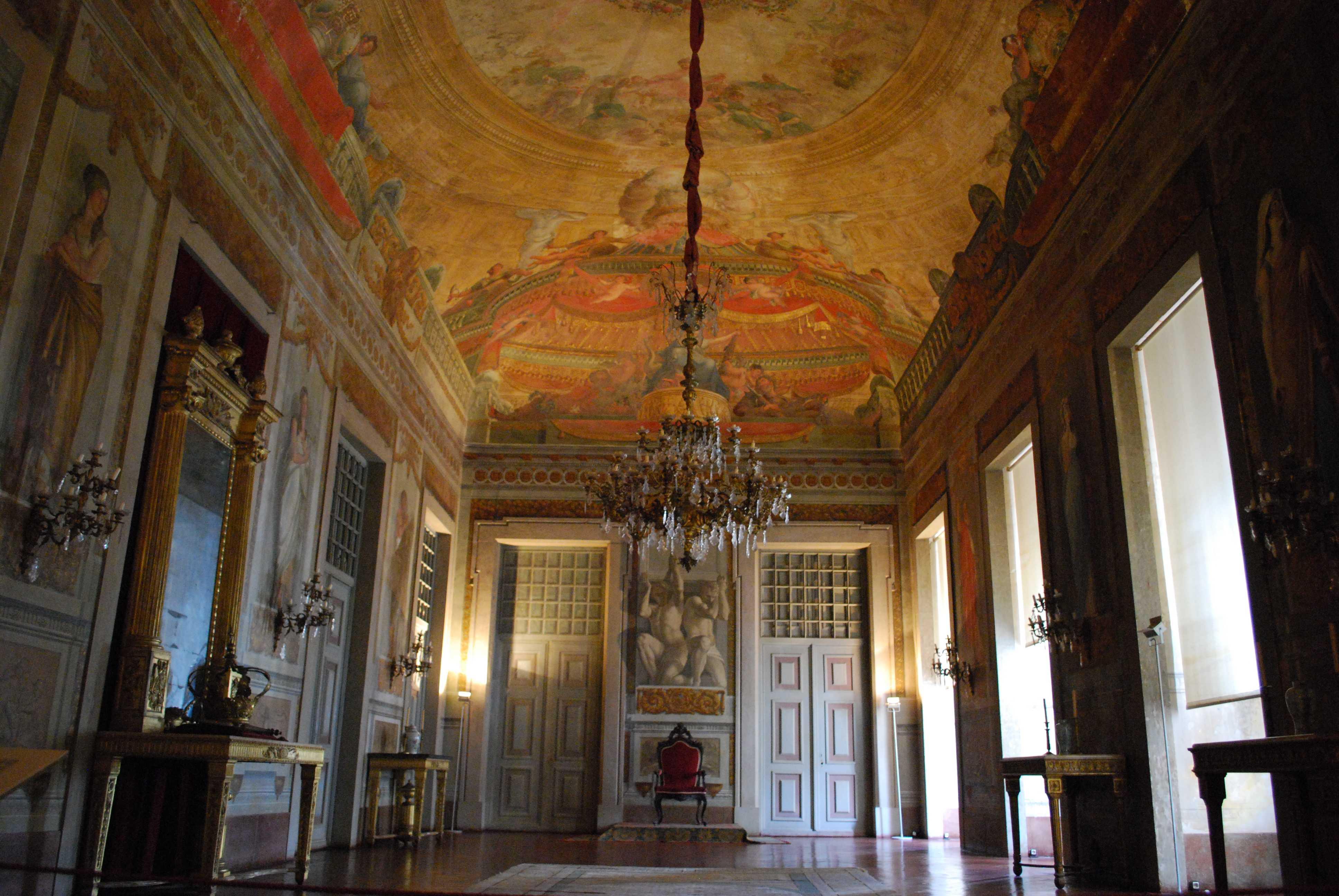Palácio de Mafra, Sala do Trono