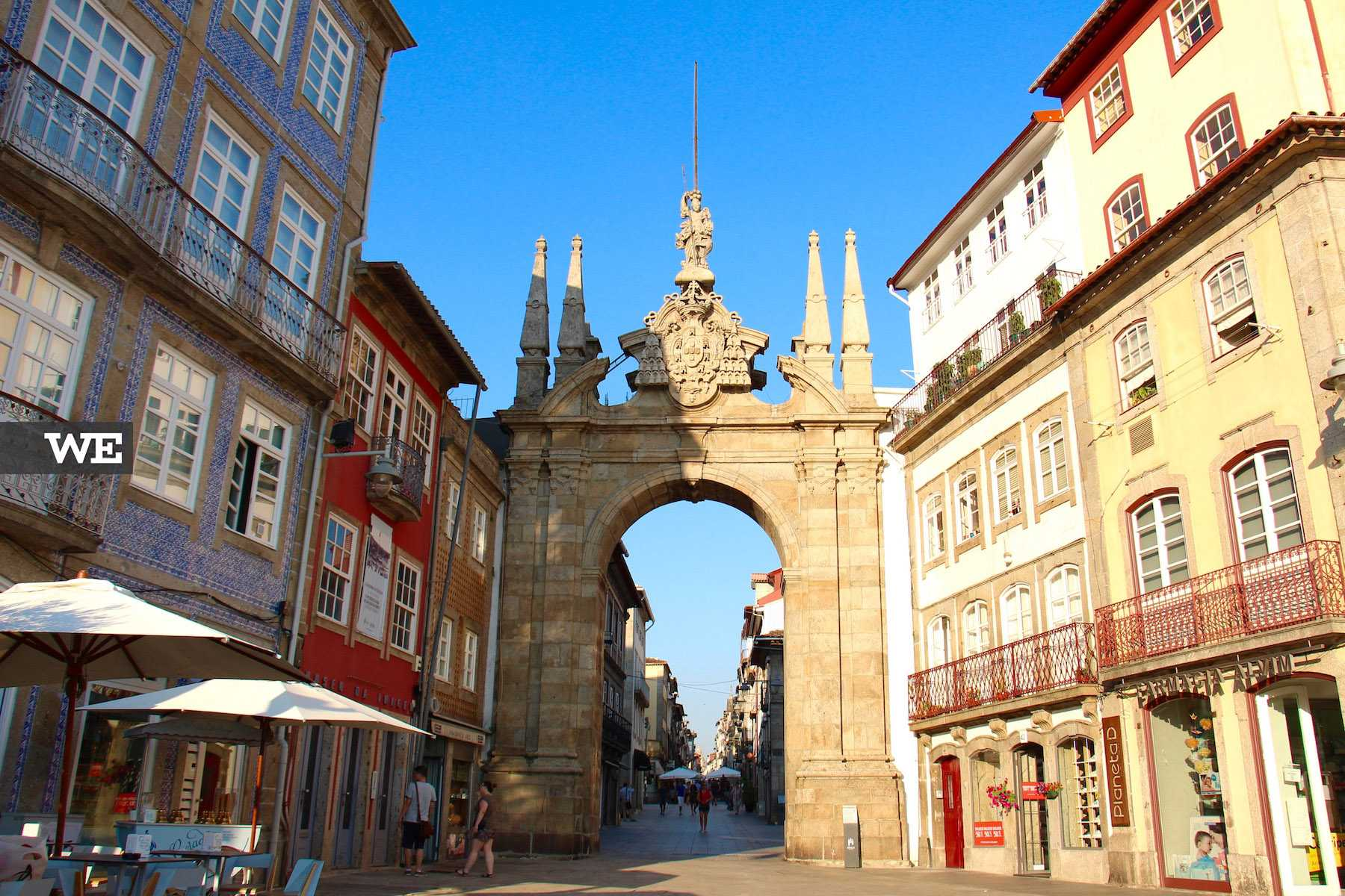 Arco da Porta Nova de estilo barroco
