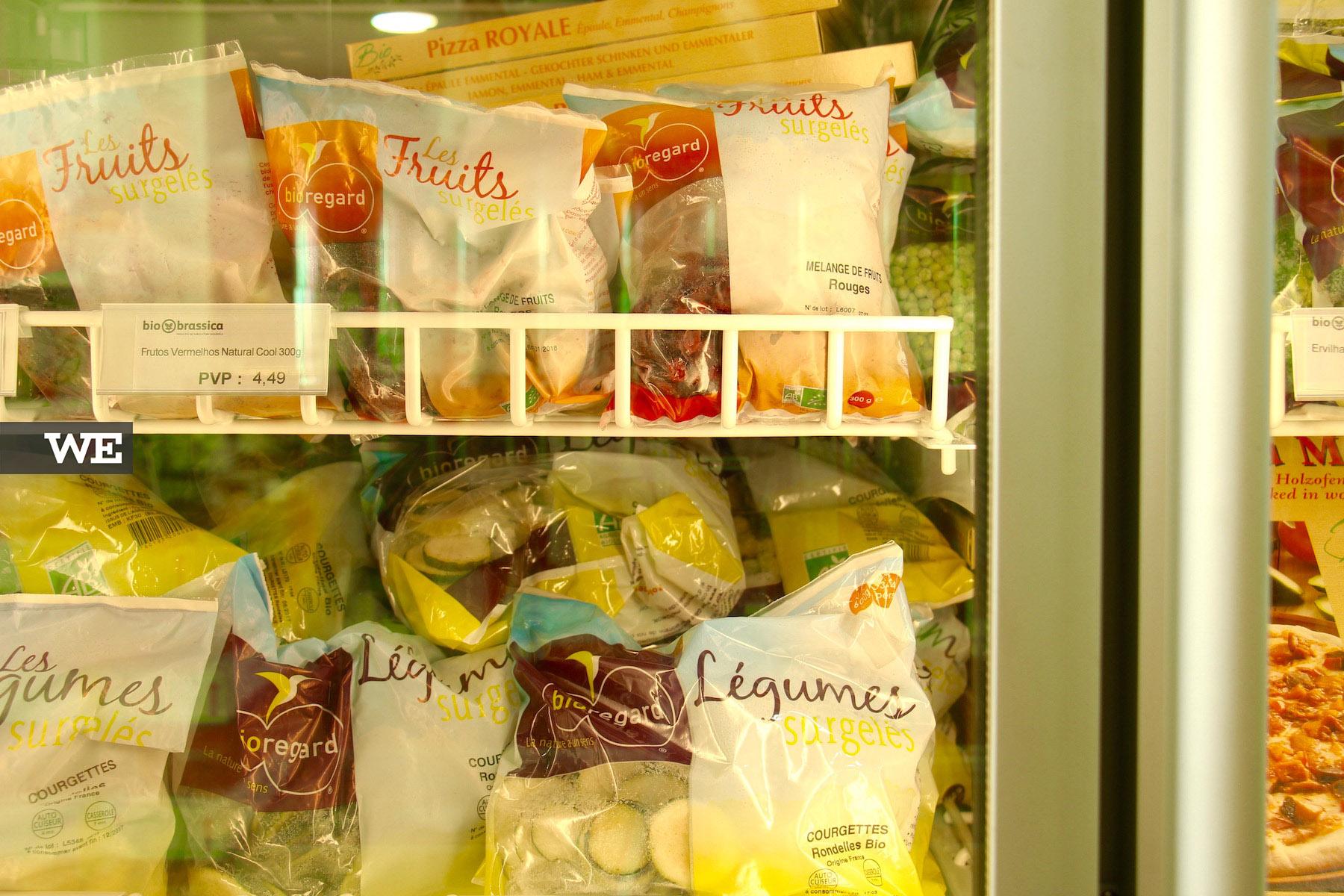 Congelados BIO na Biobrassica, uma loja de produtos biológicos