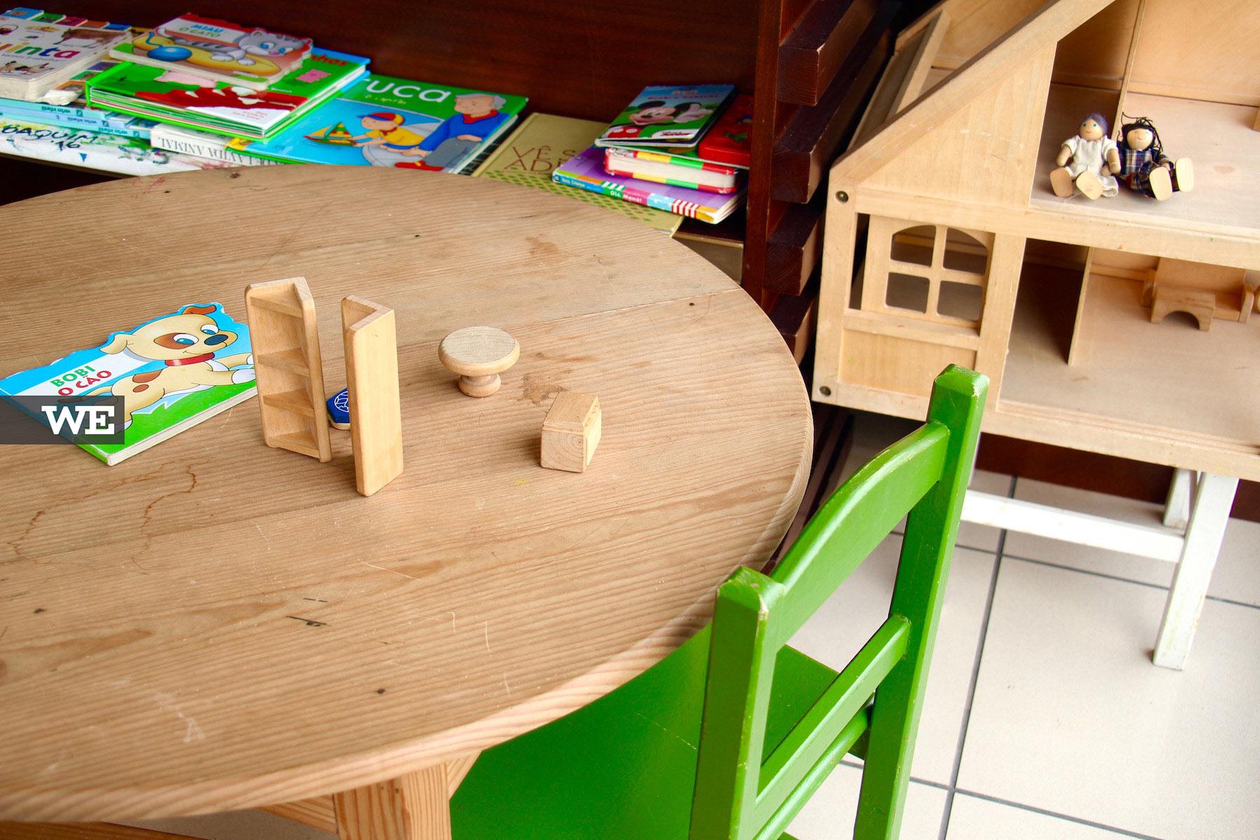Espaço para os pequeninos na Biobrassica, uma loja de produtos biológicos