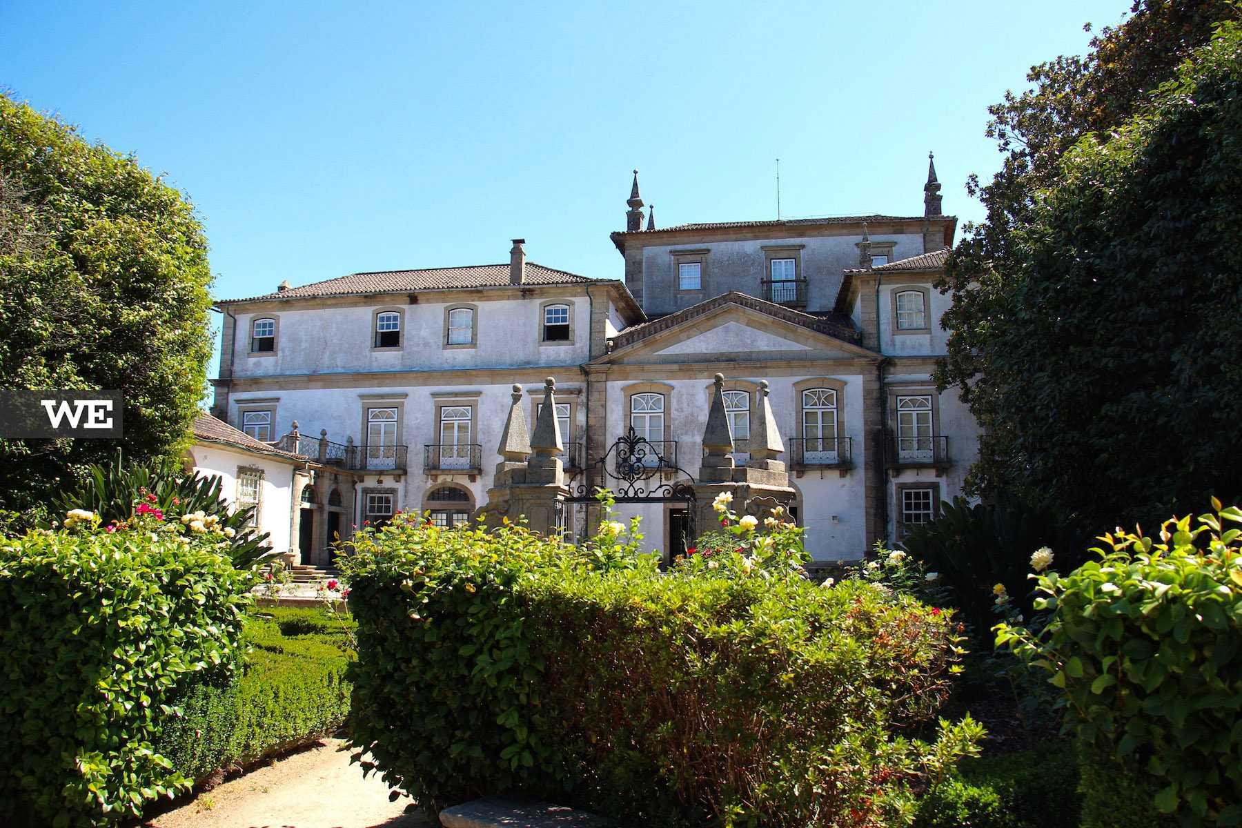 Museus dos Biscainhos de estilo barroco