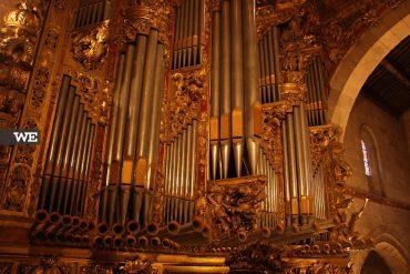 Orgão de Tubos da Sé de Braga em Arte Barroca