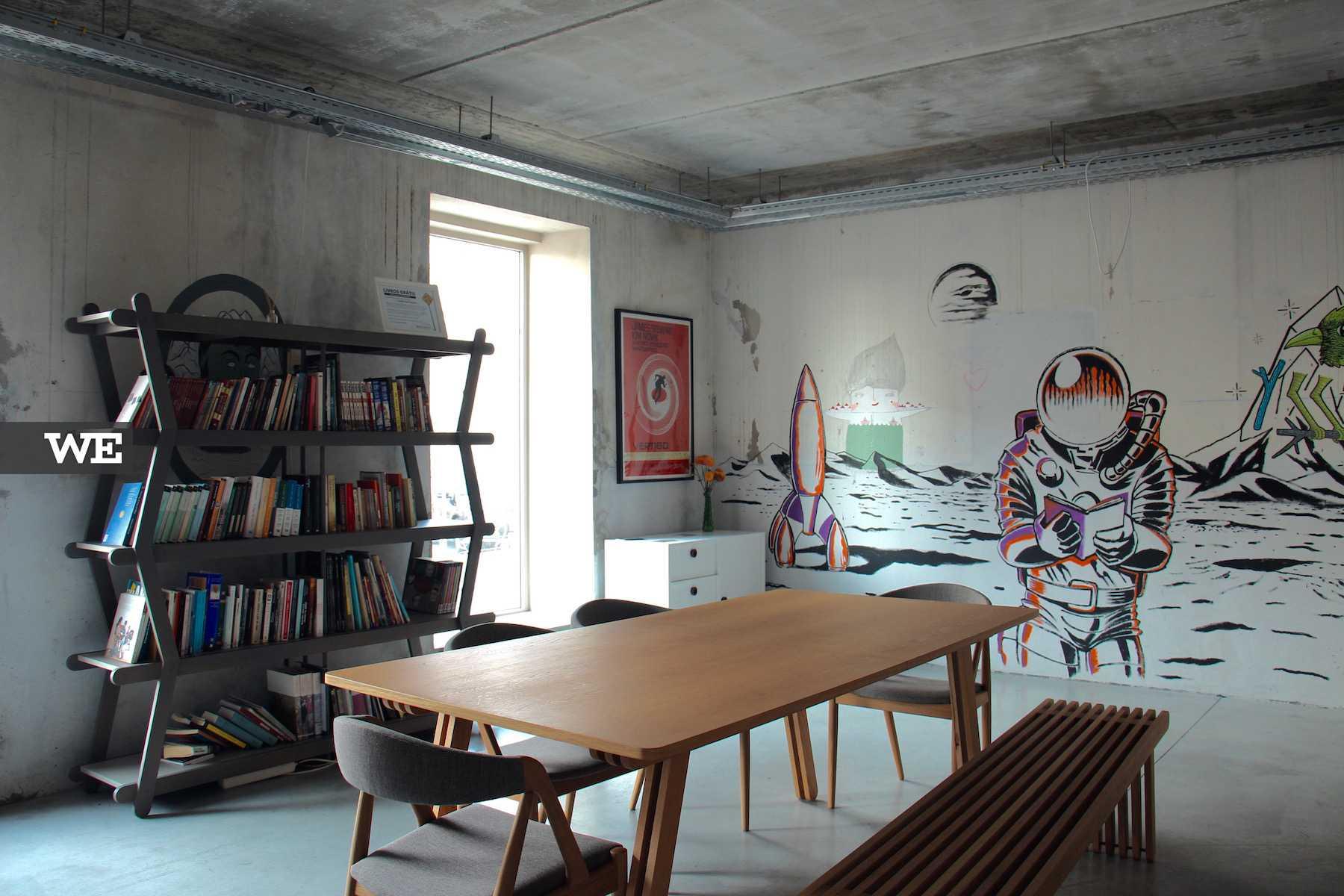 PAIISA, cafetaria e esoaço de livros, no GNRation
