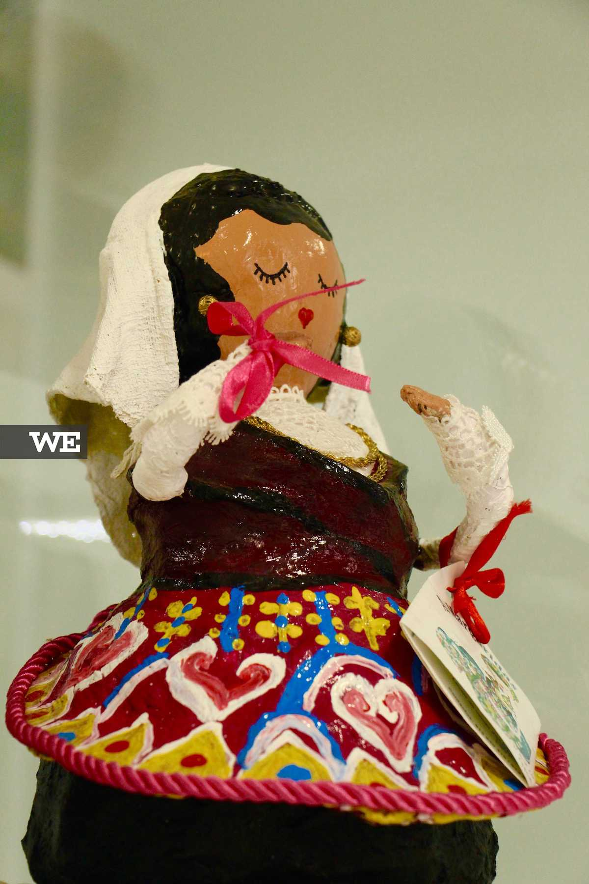 Boneca da marca portuguesa As Margaridas, na loja IrinasB