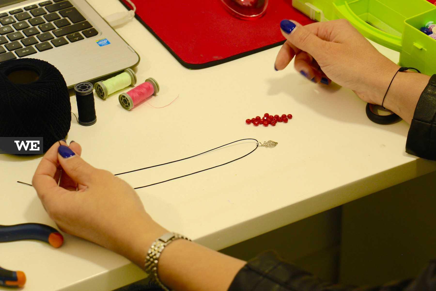 Bijuteria feita à mão da marca IrinasB