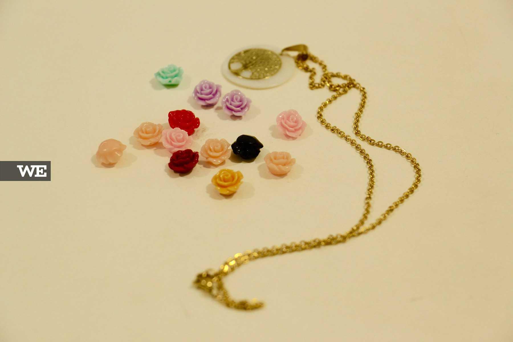 Pode personalizar a bijuteria na loja IrinasB