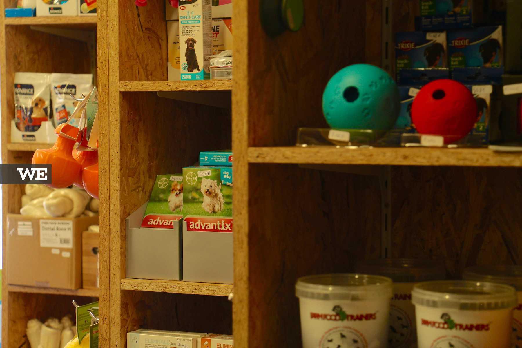 Interior da loja Petbliss