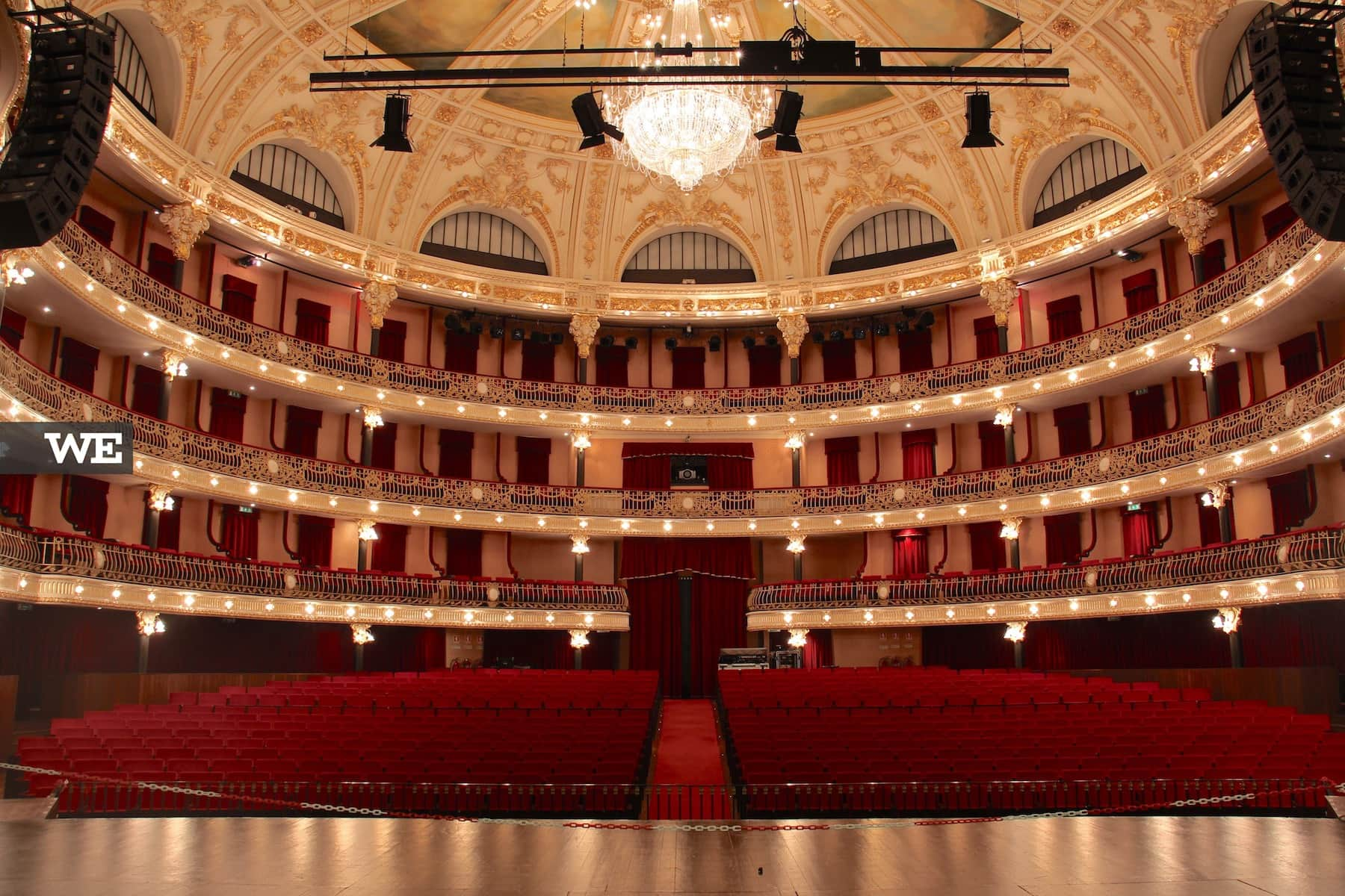 Interior do theatro circo