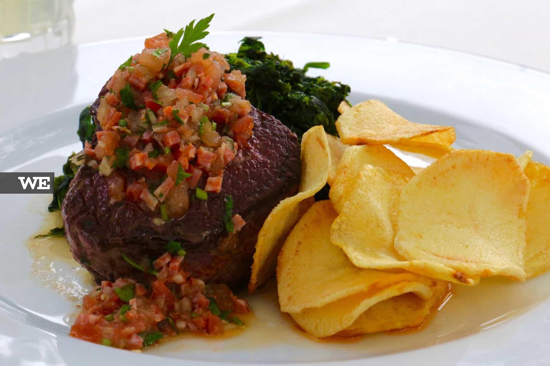 Comida mediterrânica no Alma D'eça - We Braga