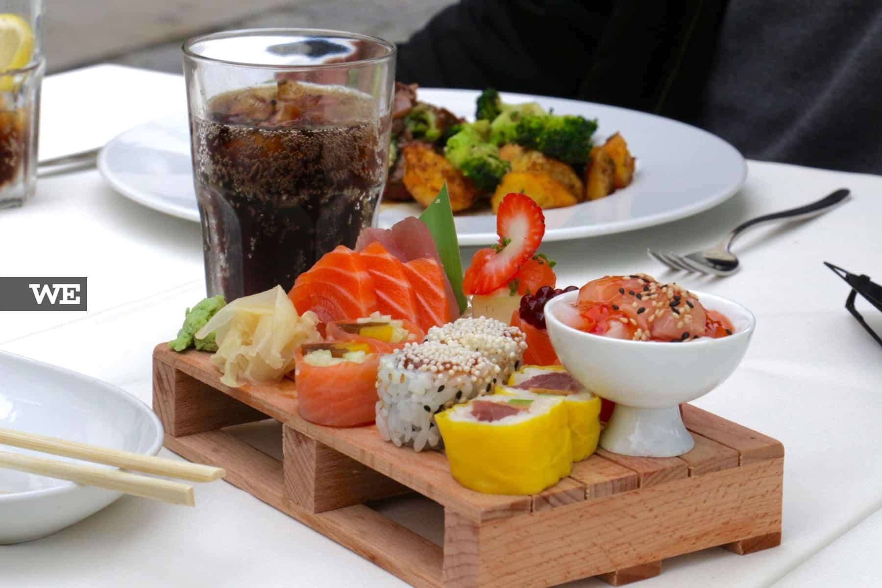 Sushi em Braga no Alma d'Eça - We Braga