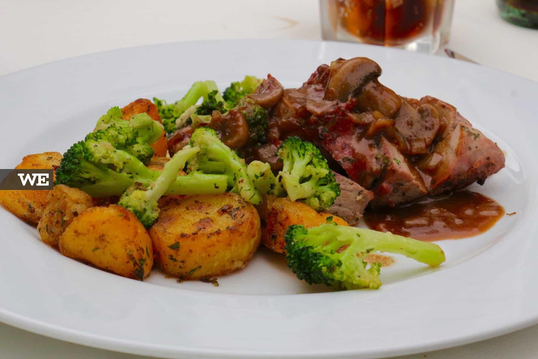 Comida Mediterrânica em Braga no Alma d'Eça - We Braga