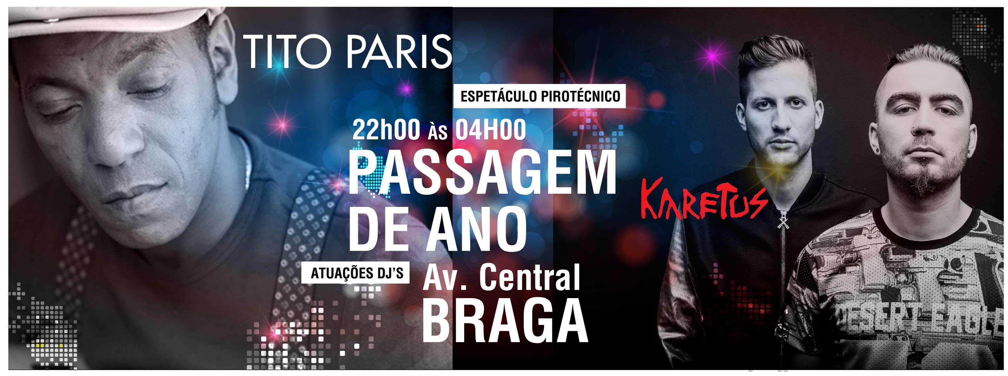 Passagem de Ano - Acenida Central, Braga