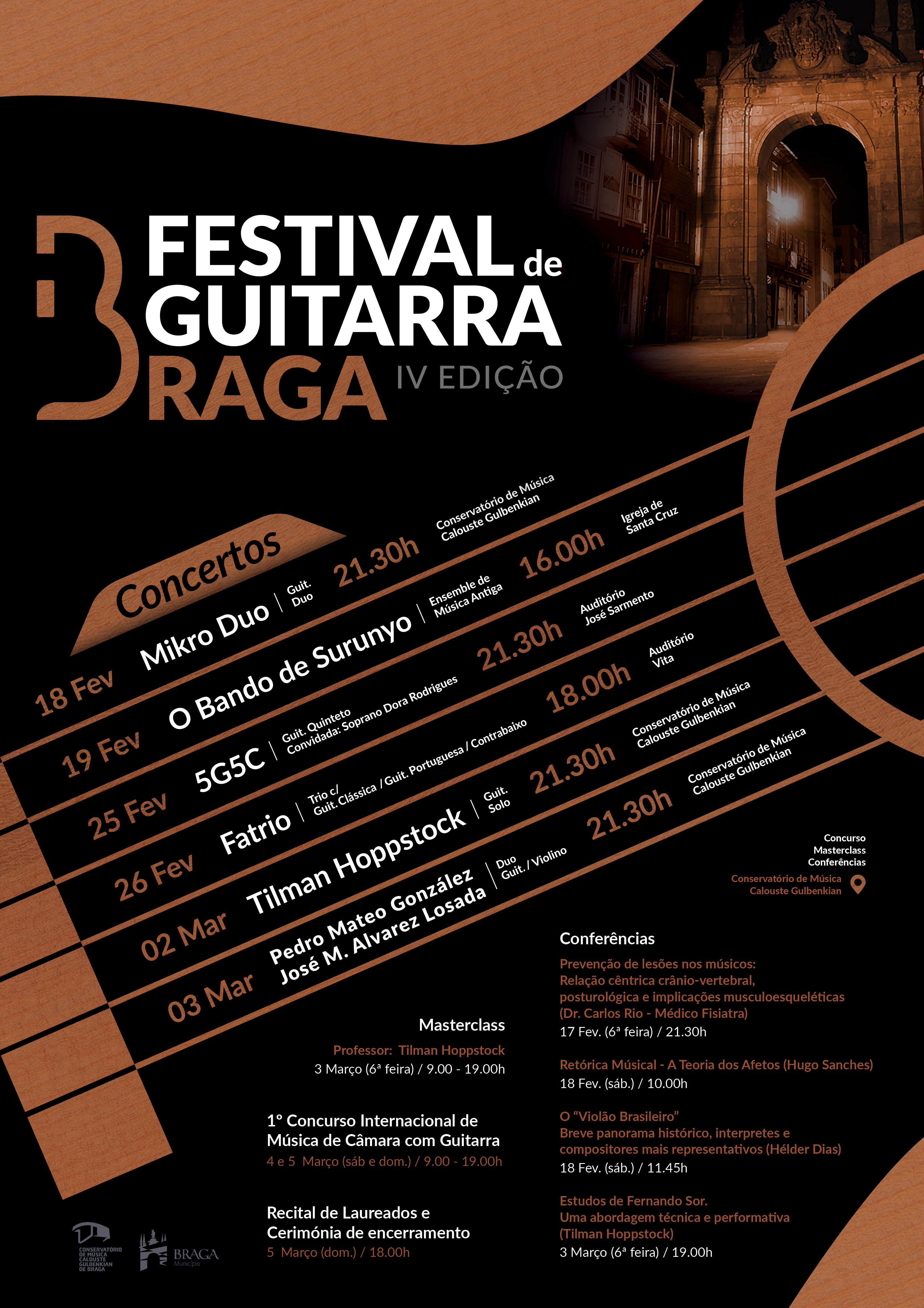 IV edição do Festival da Guitarra em Braga