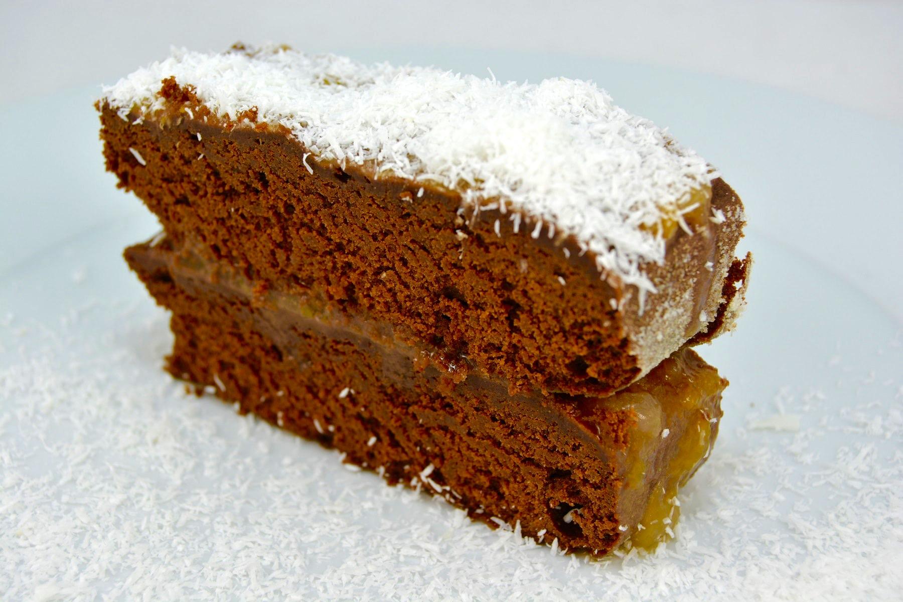 Bolo de chocolate sem glúten feito num workshop na Biobrassica