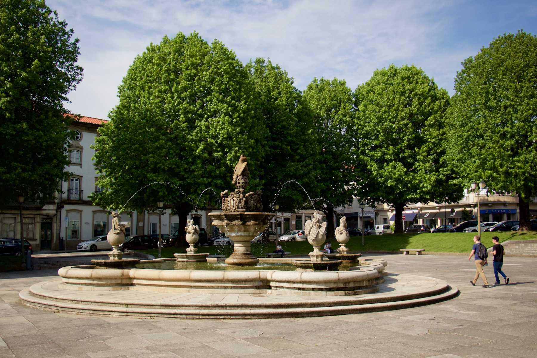 Praça do Município - Braga - Rally de Portugal - WRC