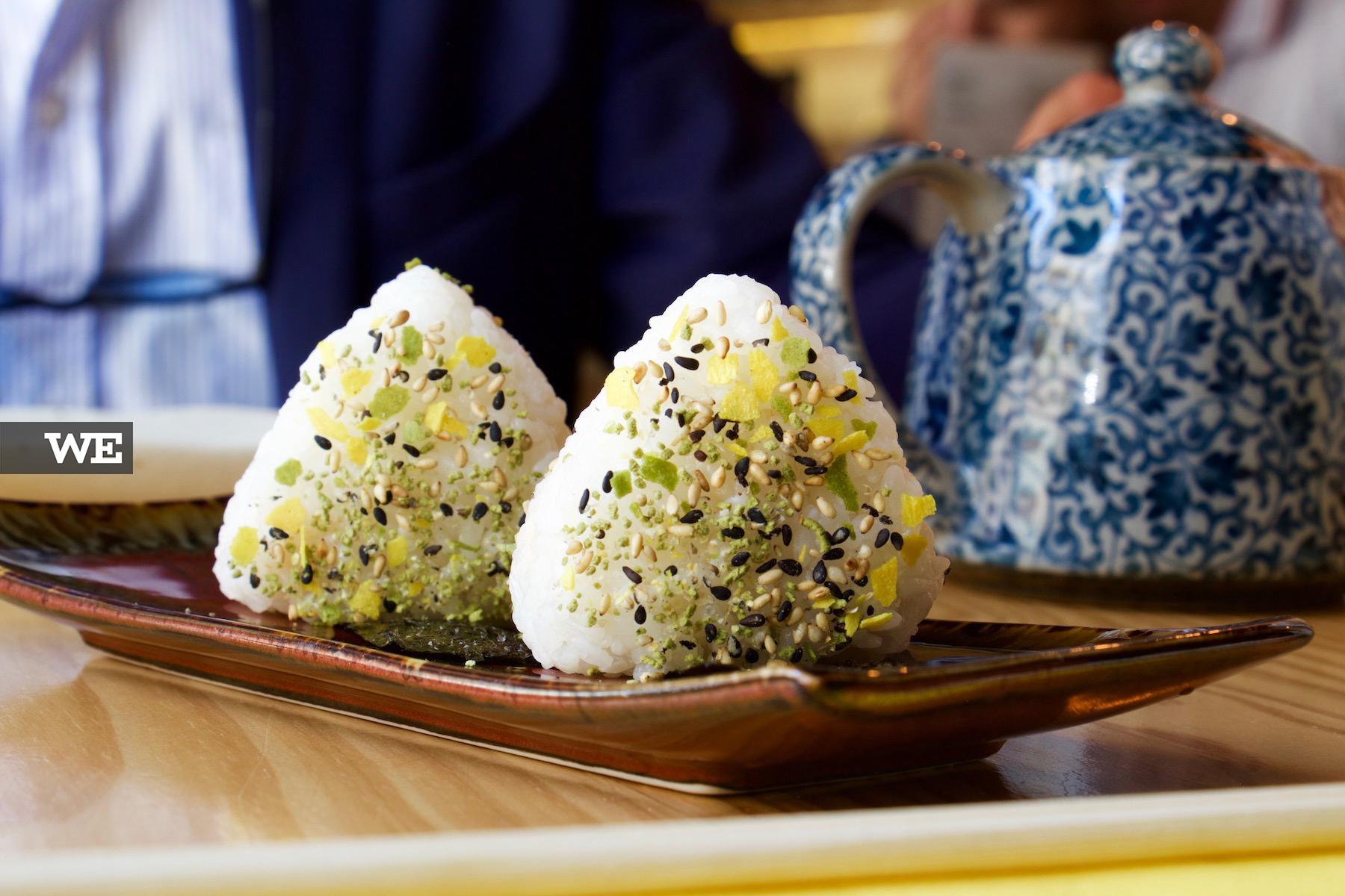 onigiri michizaki comida asiática