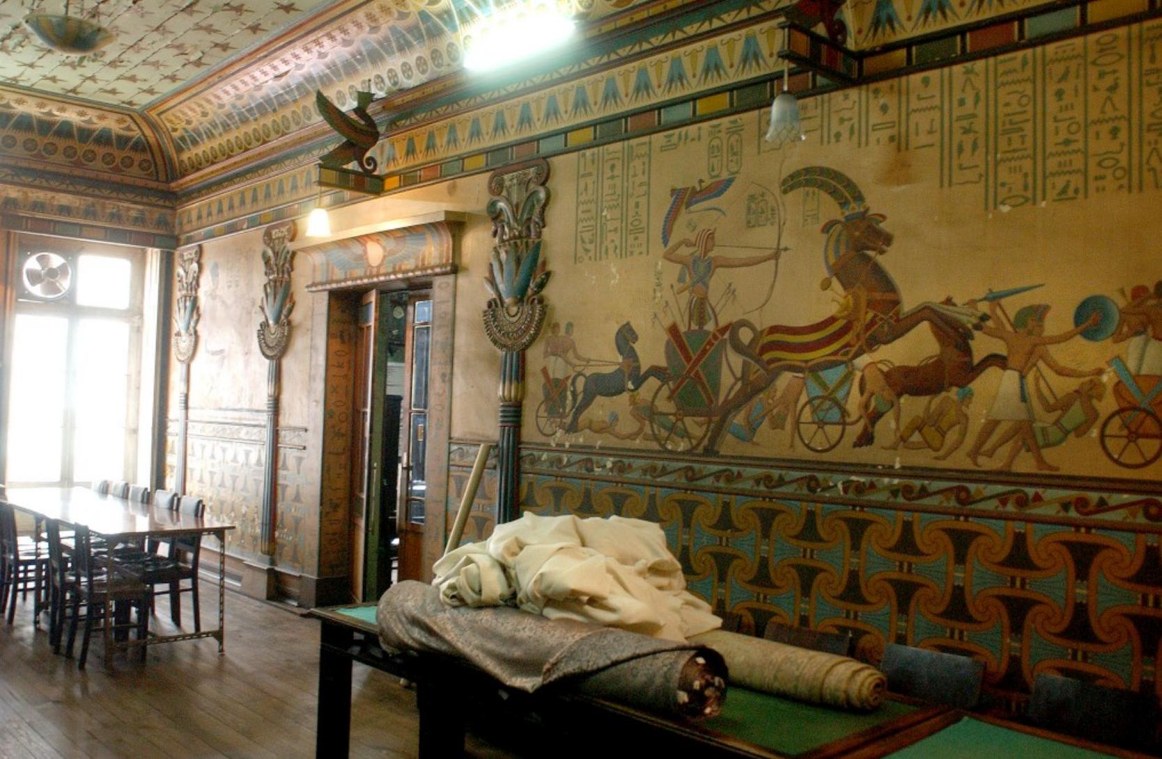 Salão Egípcio Braga