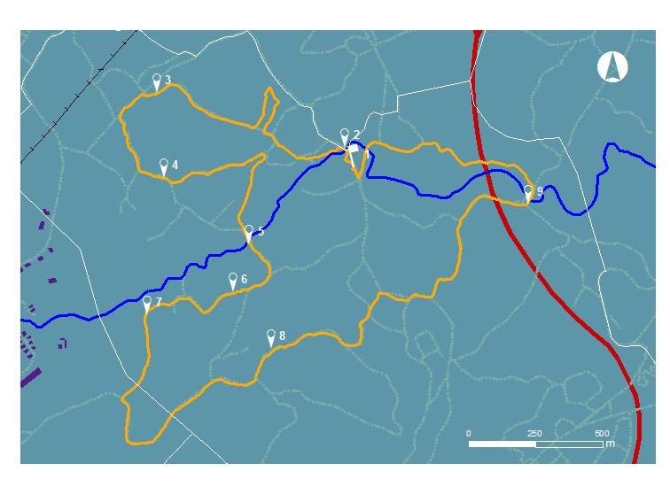 ITINERIS-trilhos-trilho dos moinhos de priscos-webraga
