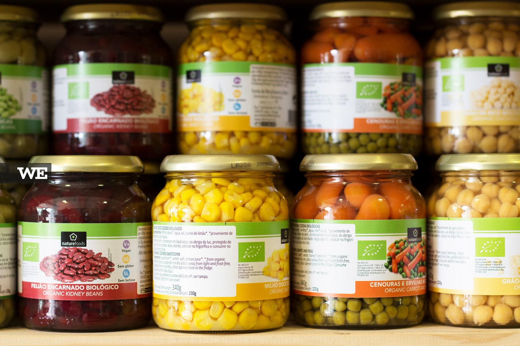 Vegetais Biológicos em Conserva Mercado Bio