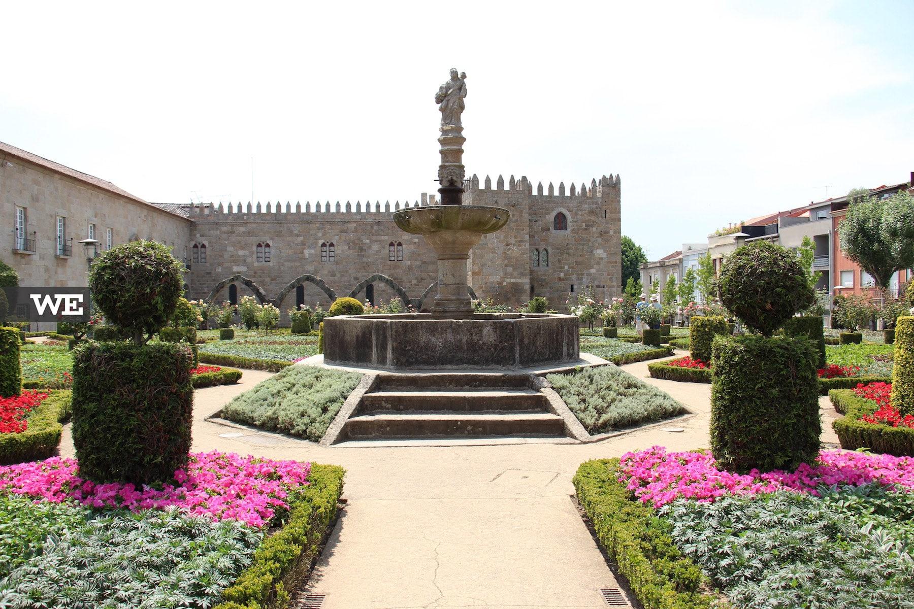Jardim de Sta Bárbara em Braga