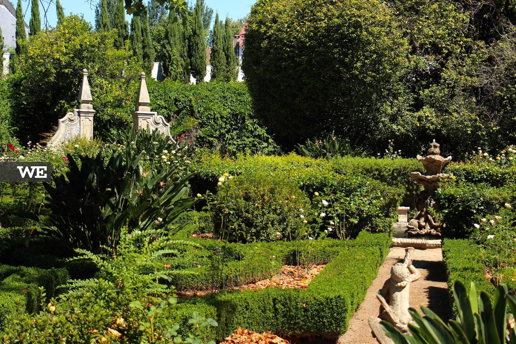 Jardim dos Biscainhos em Braga