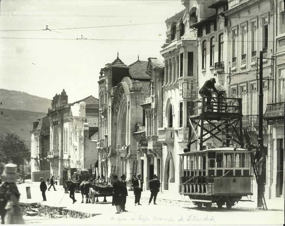 Elétrico de Braga Instalação