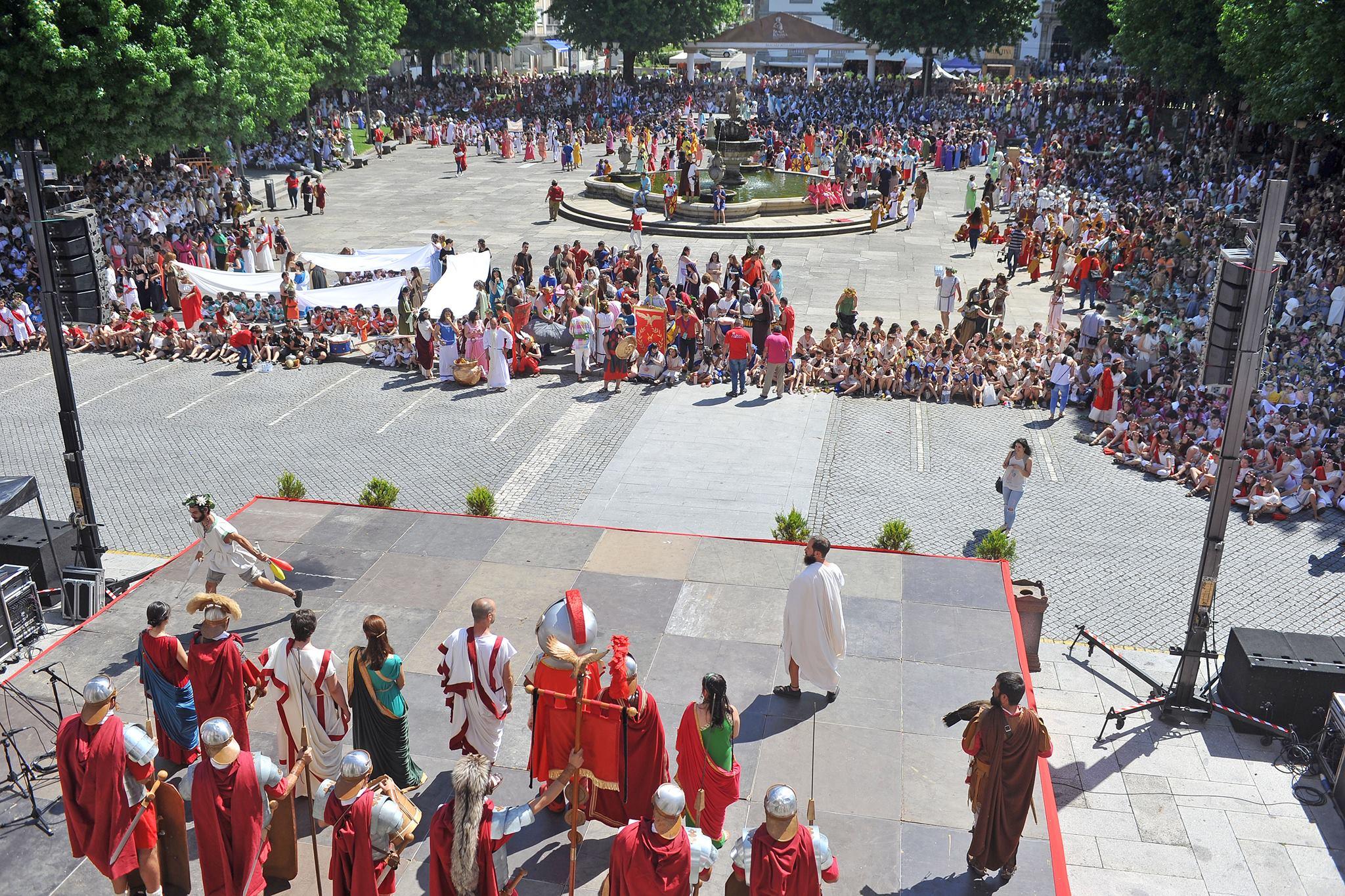 Braga Romana Encenação