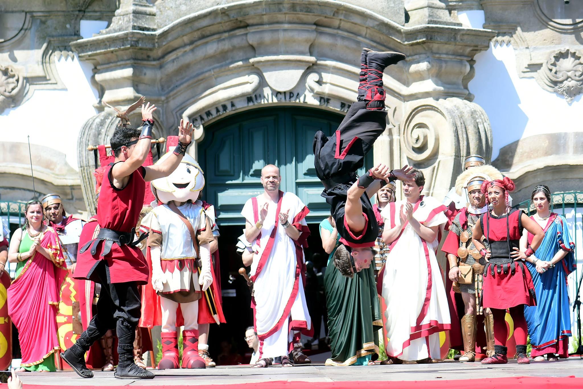 Braga Romana Trapezistas