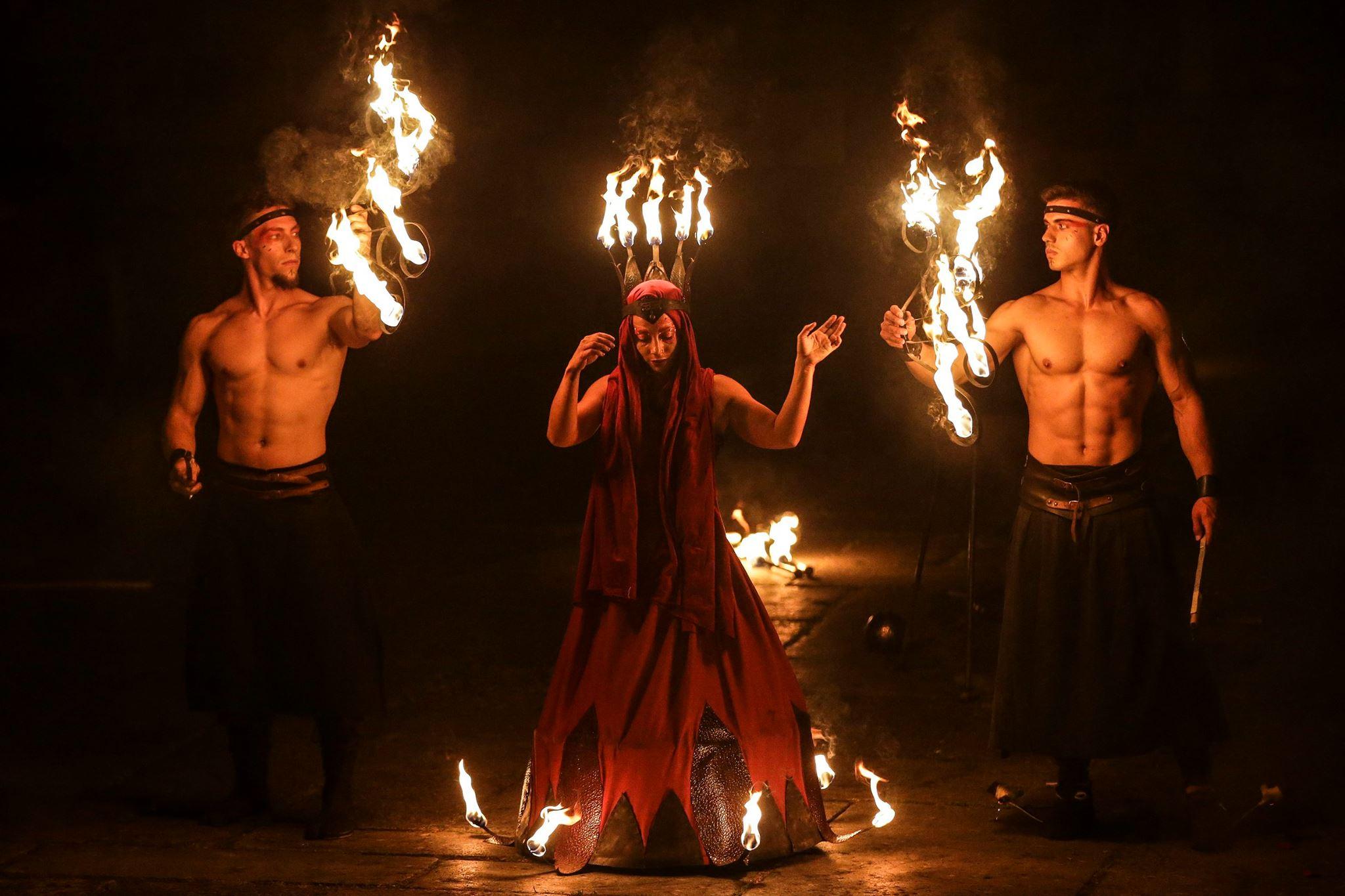 Braga Romana Performance de Fogo