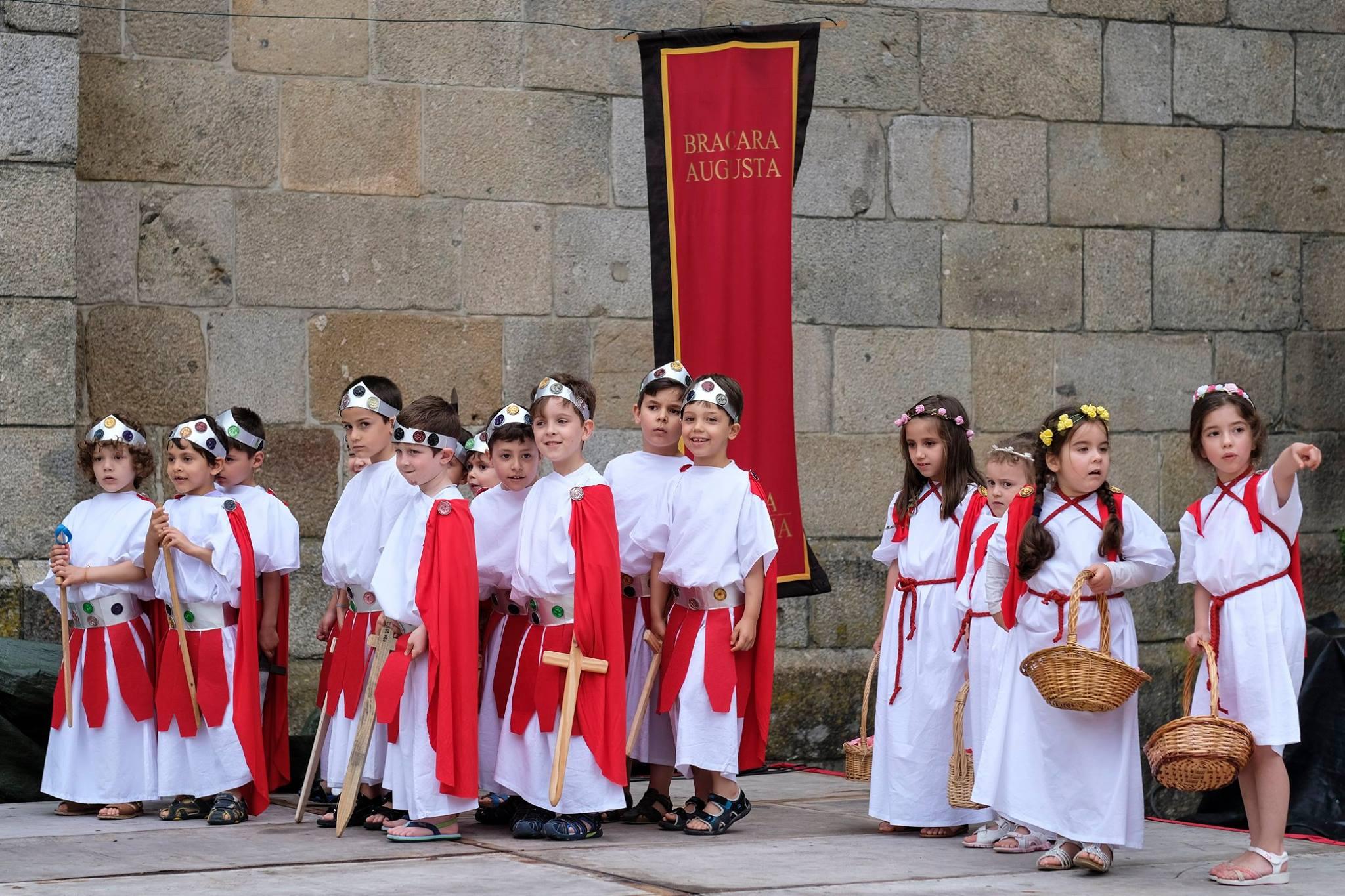 Braga Romana 2019 Crianças