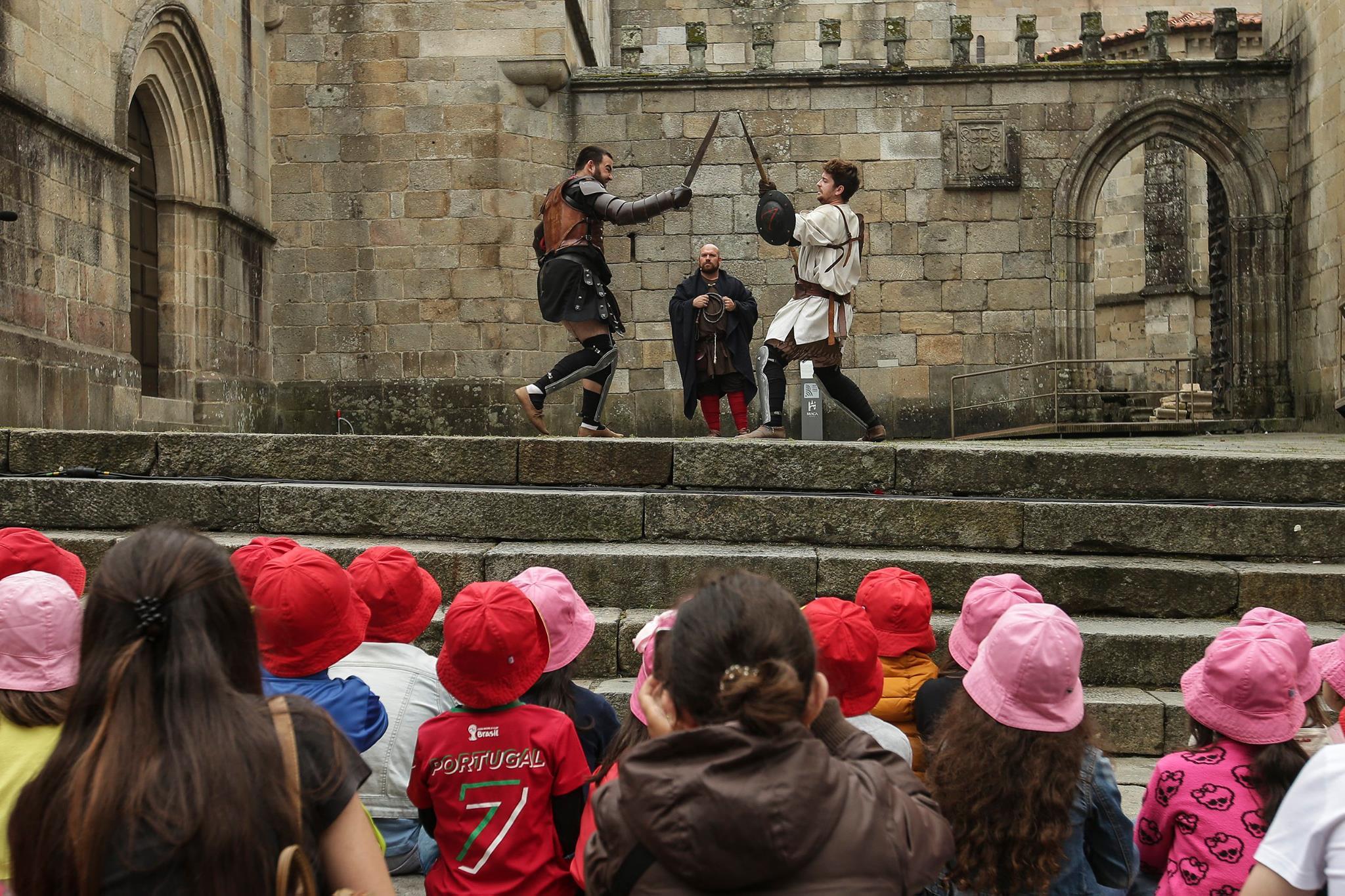 Braga Romana Luta de Gladiadores