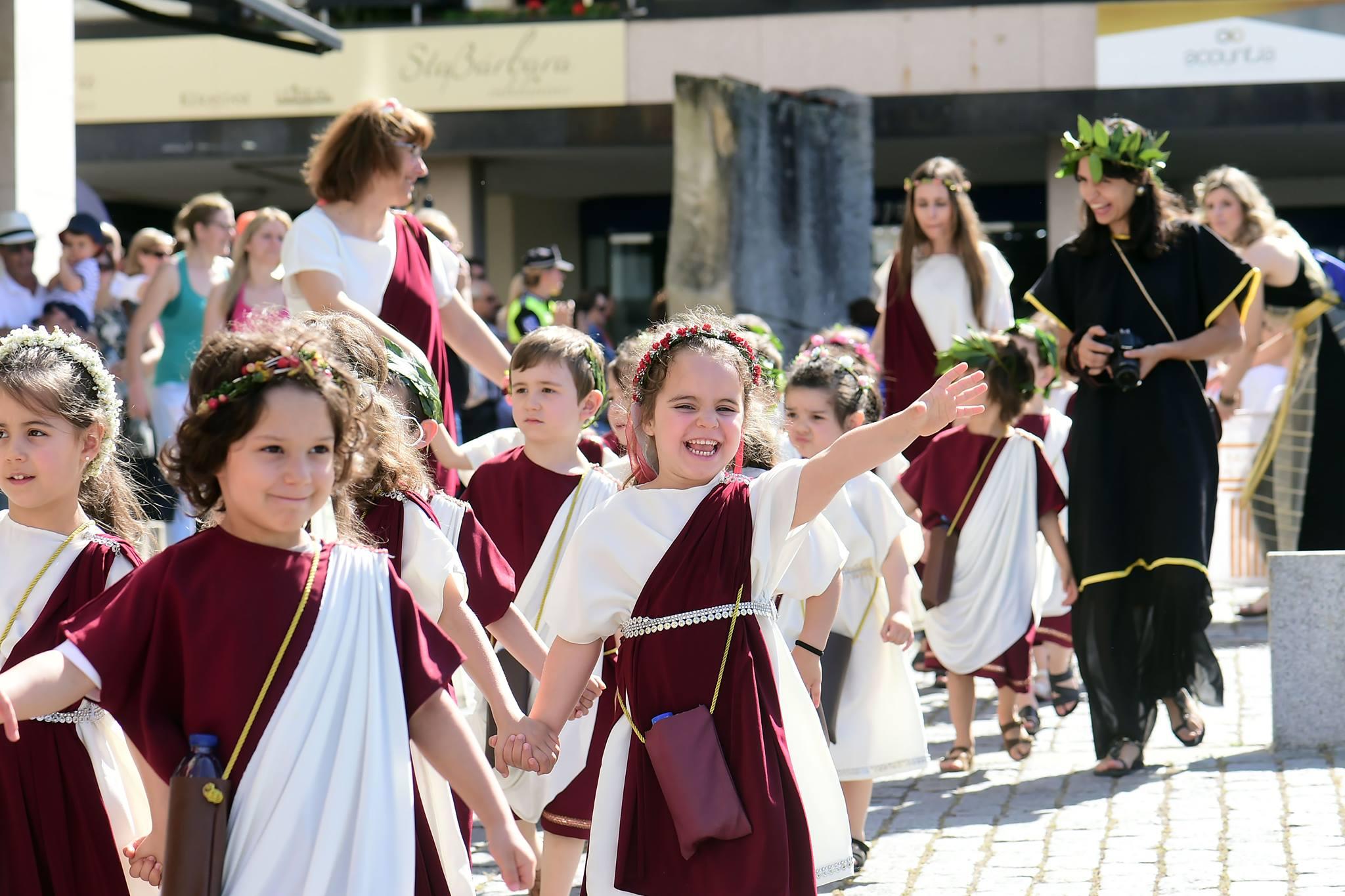 Braga Romana Cortejo Infantil
