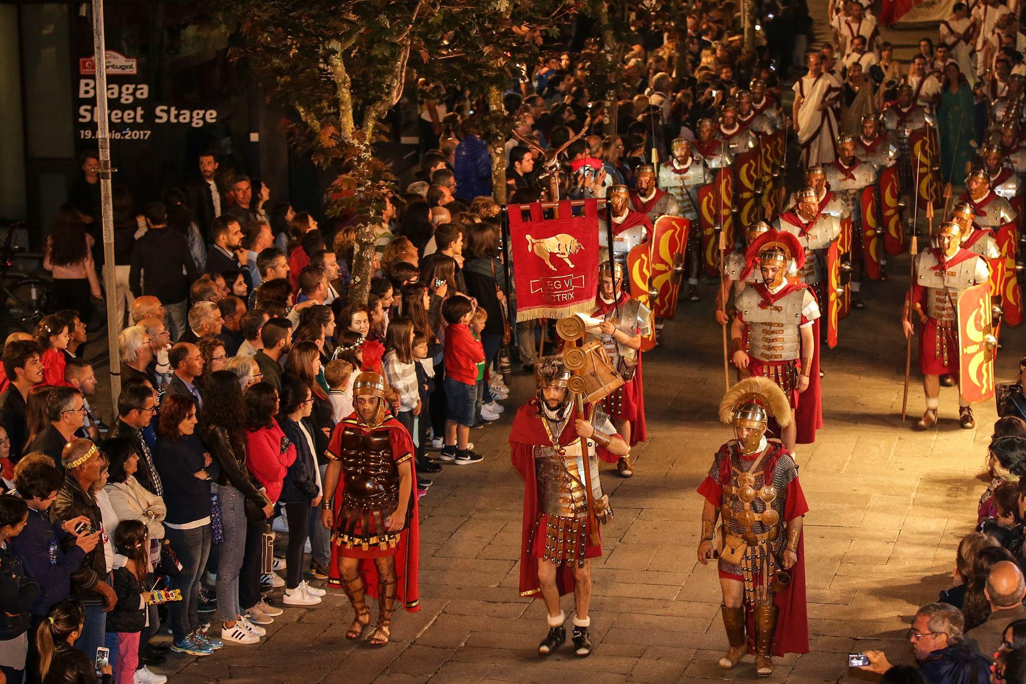 Braga Romana 2019 Cortejo Imperial