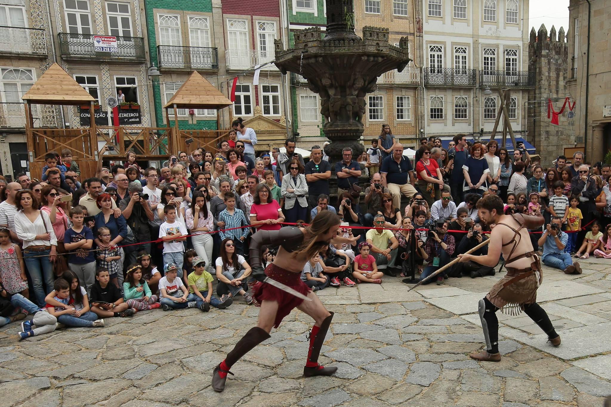 Braga Romana Luta Gladiadores