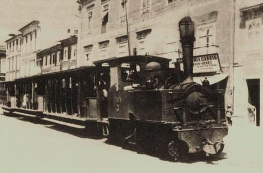 Elétrico de Braga Locomotiva a Vapor