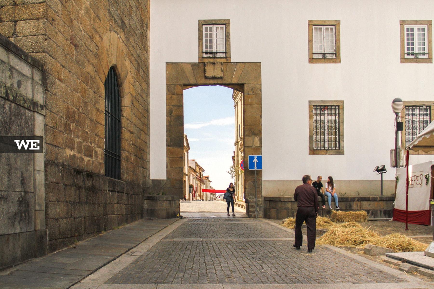 Porta de Santiago Caminho de Santiago