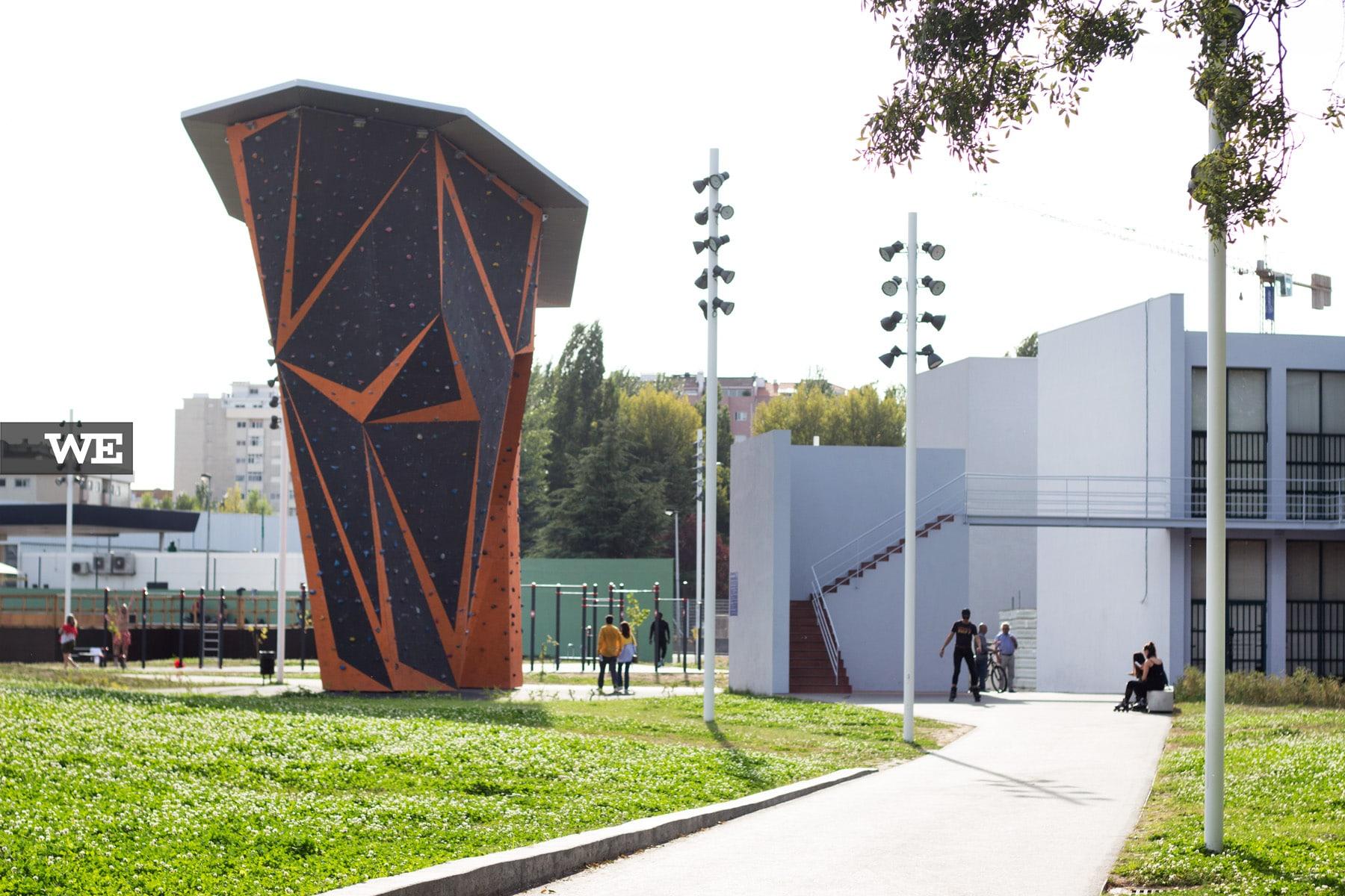 Parede Escalada Parque Desportivo Rodovia