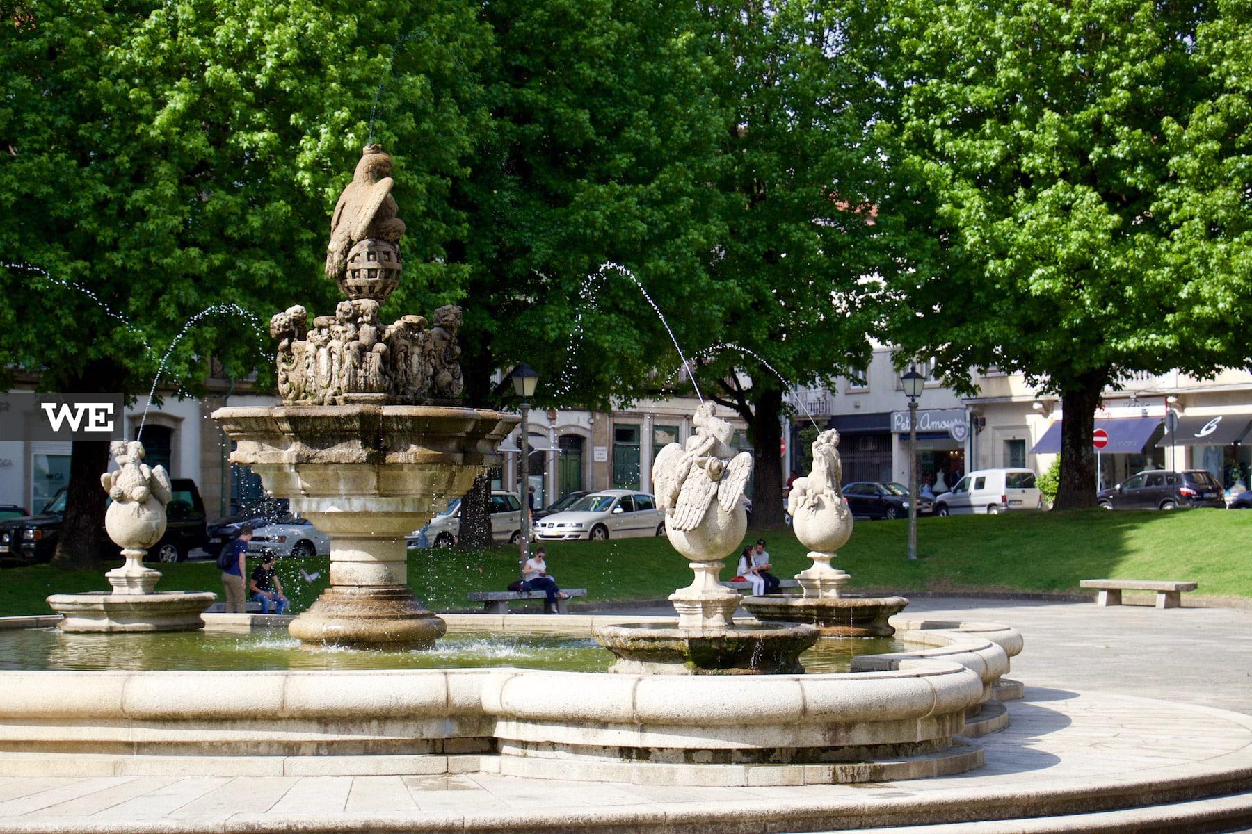 Fonte do Pelicano Praça do Município