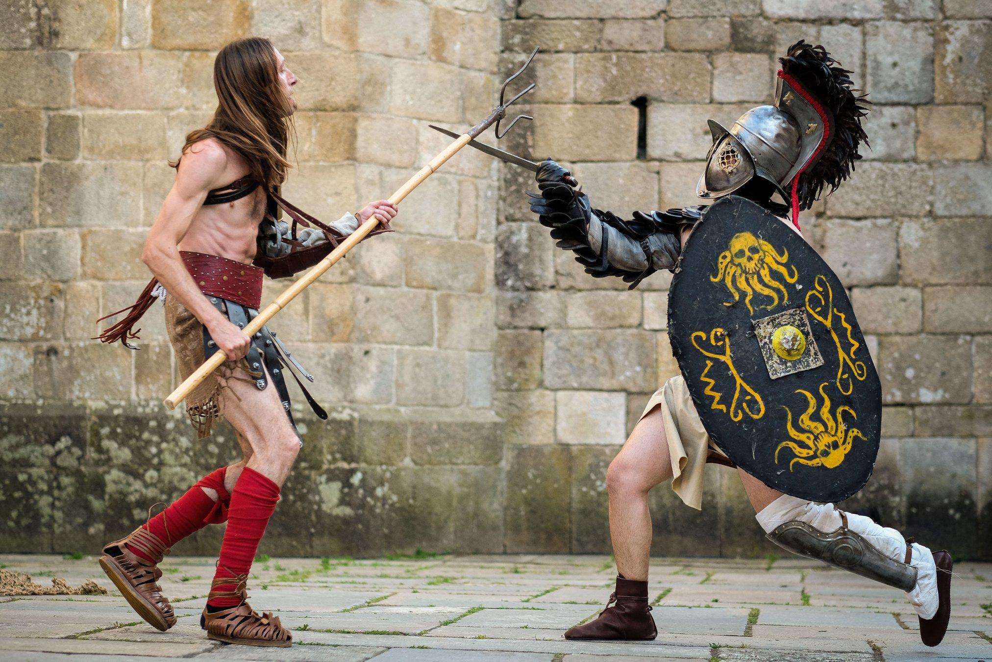 Braga Romana 2019 Gladiadores