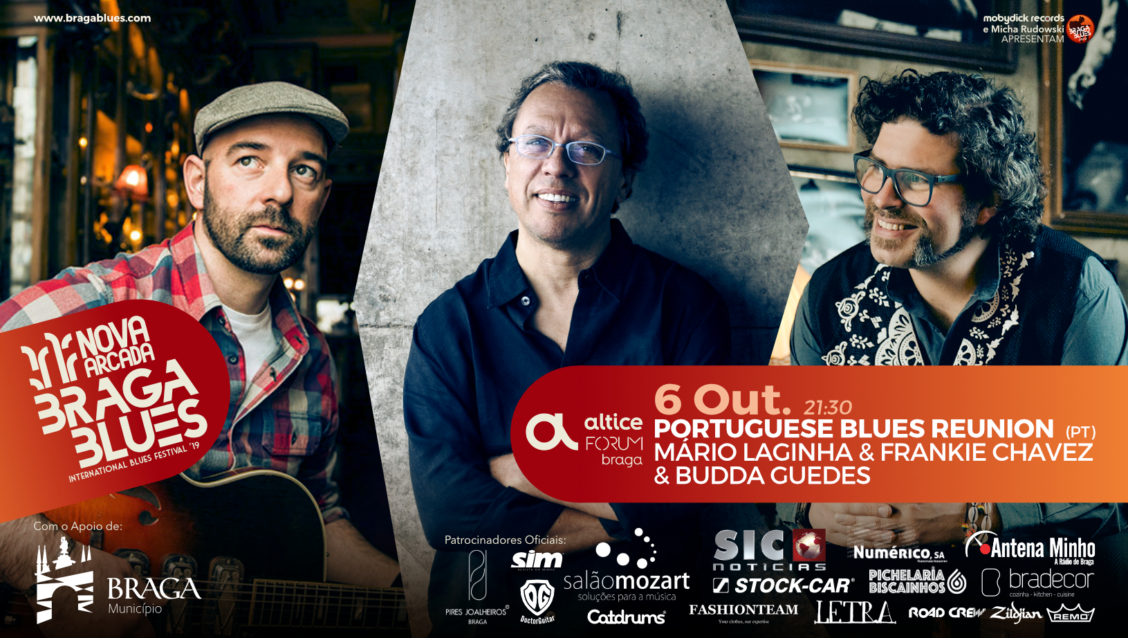 Portuguese Blues Reunion Nova Arcada Braga Blues