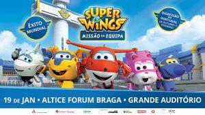 Super Wings Altice Forum Braga