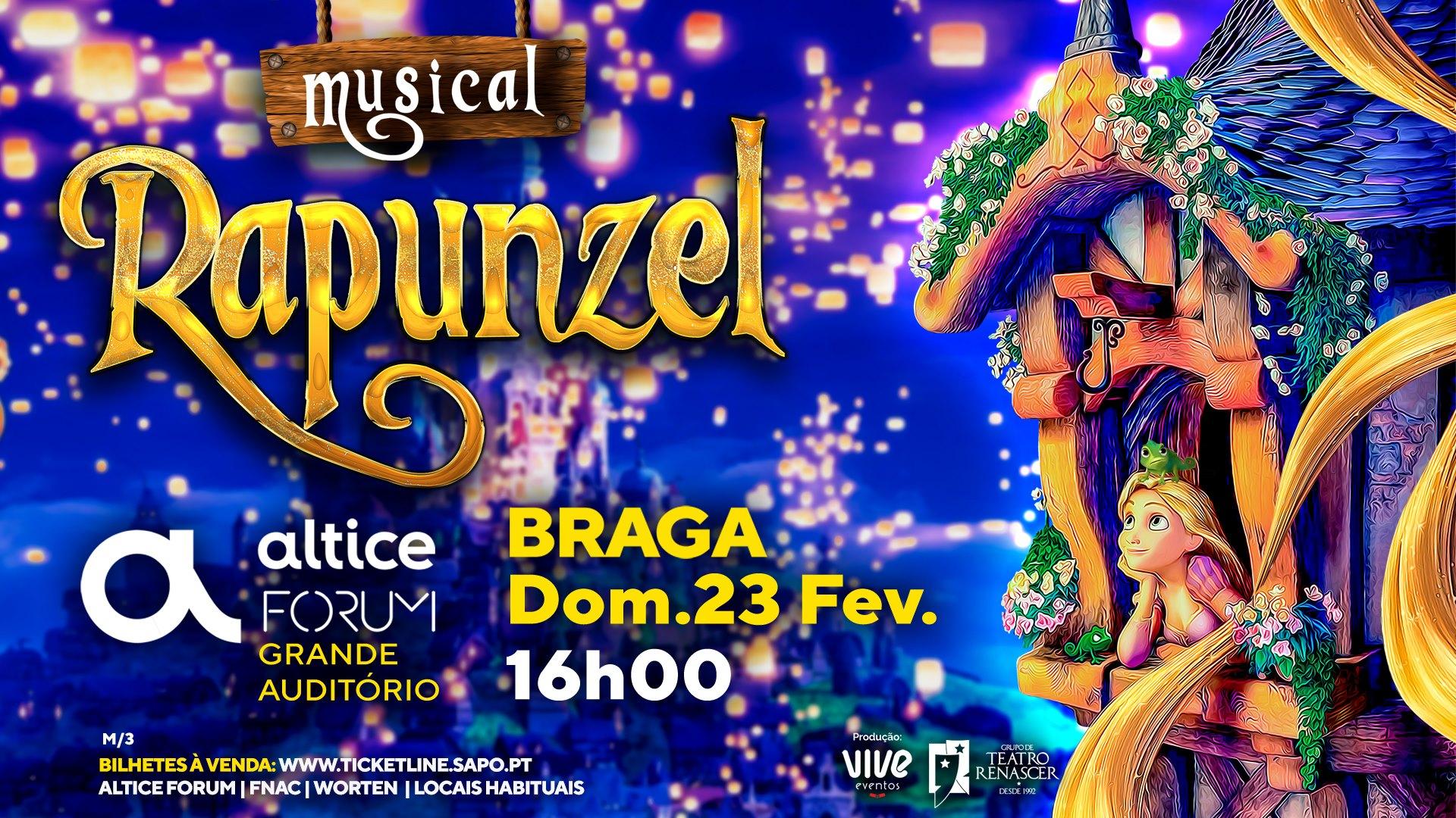 Rapunzel Altice Forum Braga