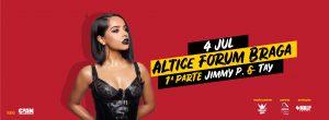 Becky G Altice Forum Braga