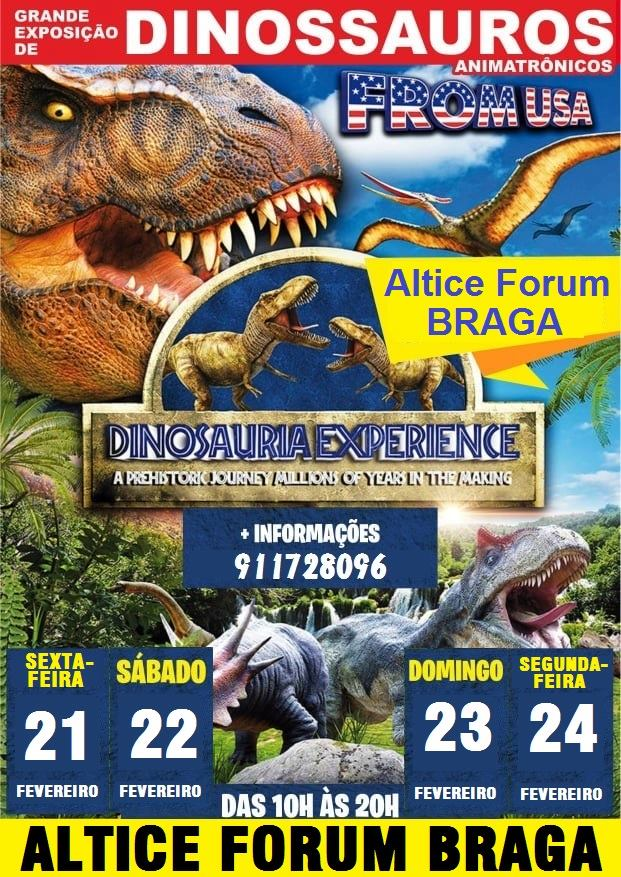 Dinosauria Experience Altice Forum Braga