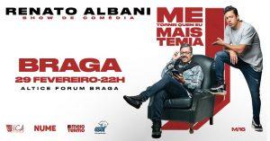 Renato Albani Altice Forum Braga