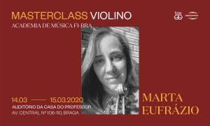 Marta Eufrázio Masterclass de Violino